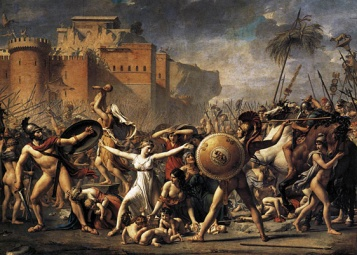 Les Sabines, de Jacques Louis David